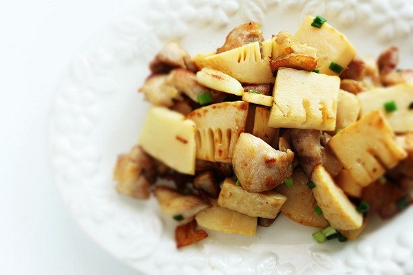 Stir Fry Beef with bamboo shoots
