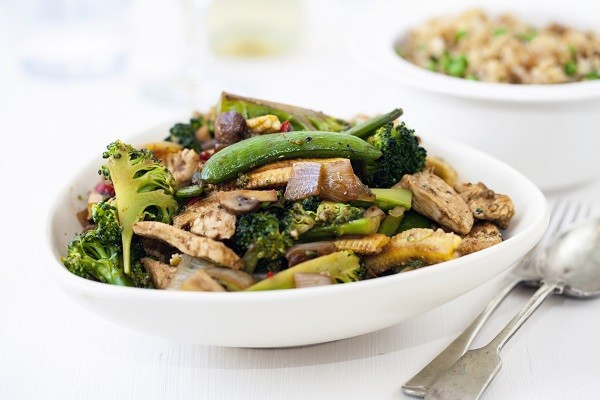 Ginger Stir Fry with Chicken