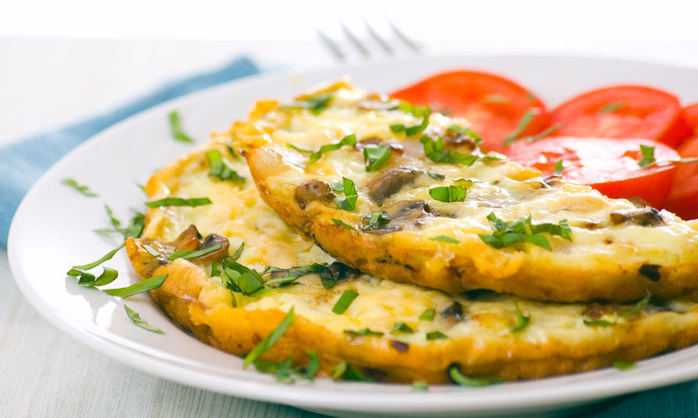 Bodytrim-Omelette-with-onion-tomato-and-herbs-Weight-loss-image