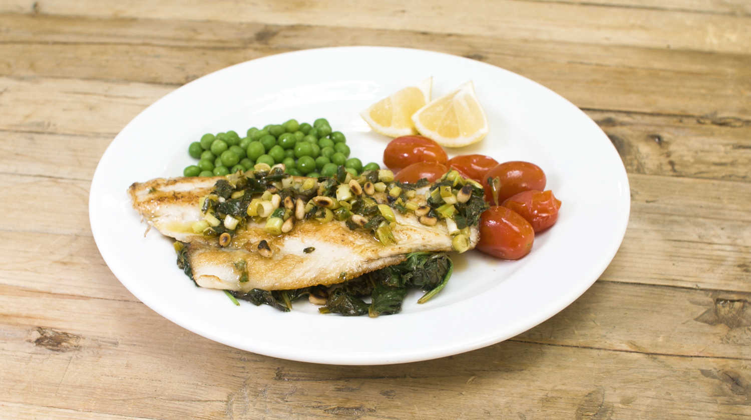 Social-Bodytrim-Fish-with-Spinach-Lemon-Pine-Nuts
