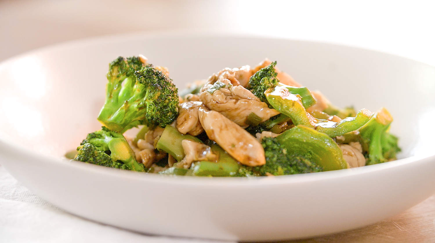 weightloss-Ginger-stir-fry-with-chicken