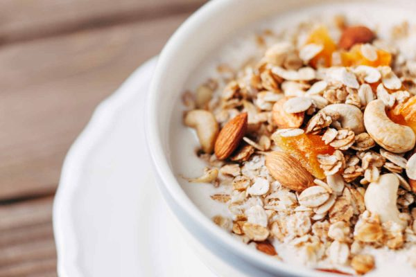 Muesli with Apricots, Almonds & Coconut