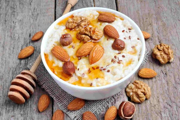 Porridge with Nuts & Honey
